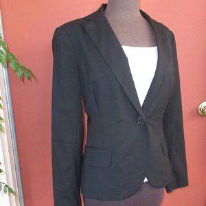 Max Studio Wool Blend Women's Black Blazer 6
